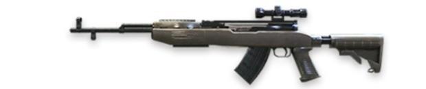 sks francotirador free fire